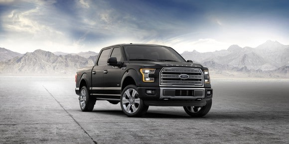 2016 Ford F-150. Foto: Ford.