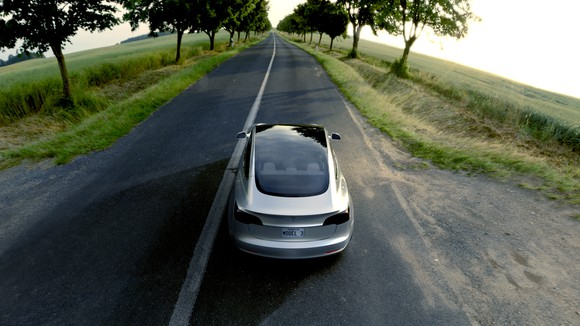 Model 3. Bildquelle: Tesla Motors.